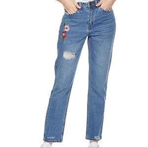 Lily Parker mom jeans NWT